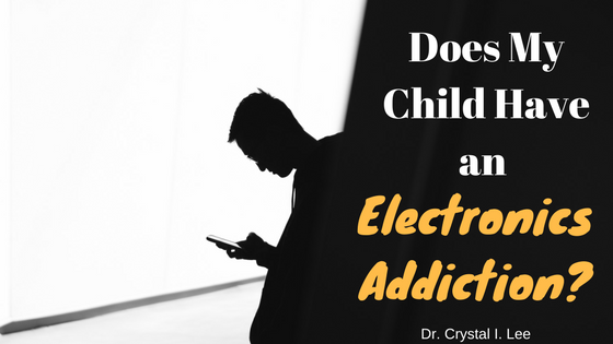 los angeles cell phone video game electronics addiction therapy