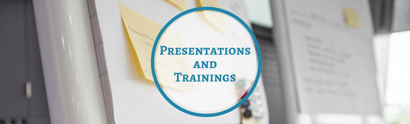 Los Angeles presentations CEs training workshops