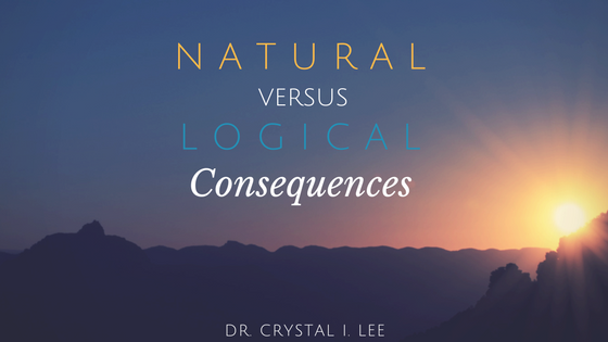 natural consequences logical consequences